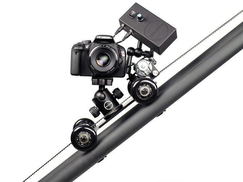 Revolce Camera motorized dolly on rails image