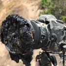 Camera Photographing Rocket Launch Gets Melted