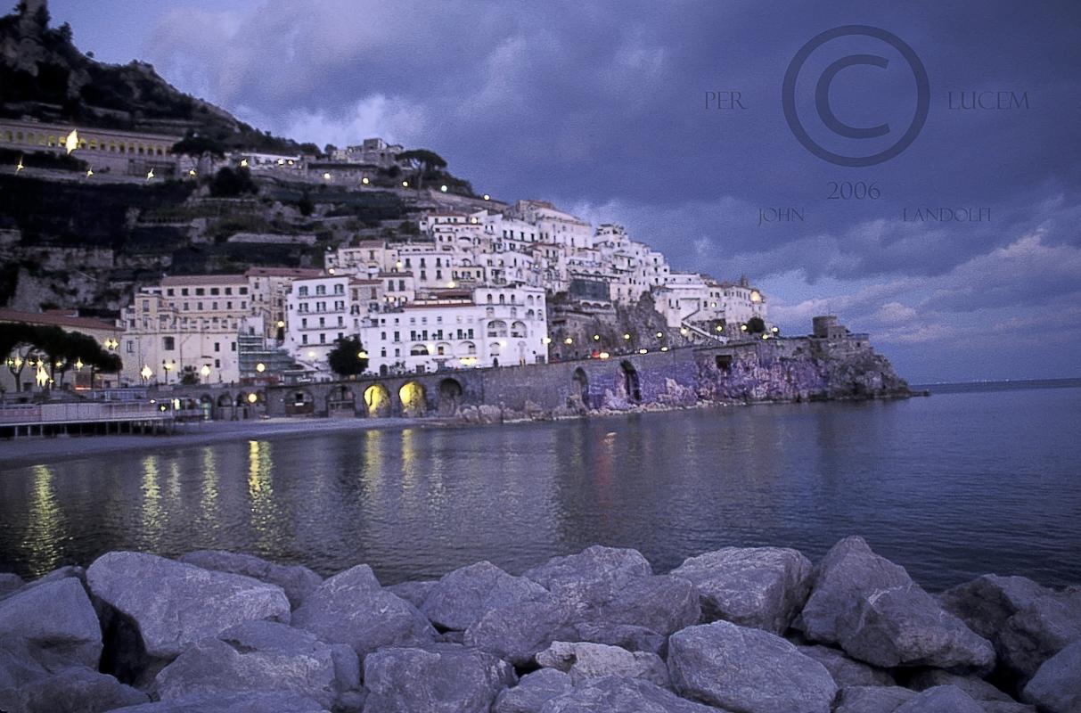 Amalfi-Dusk,Italy