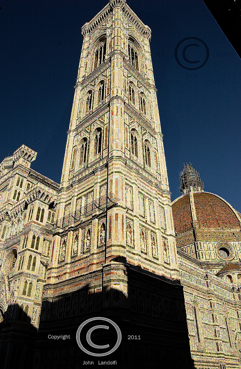 Campanile-by-Giotto,-Florence