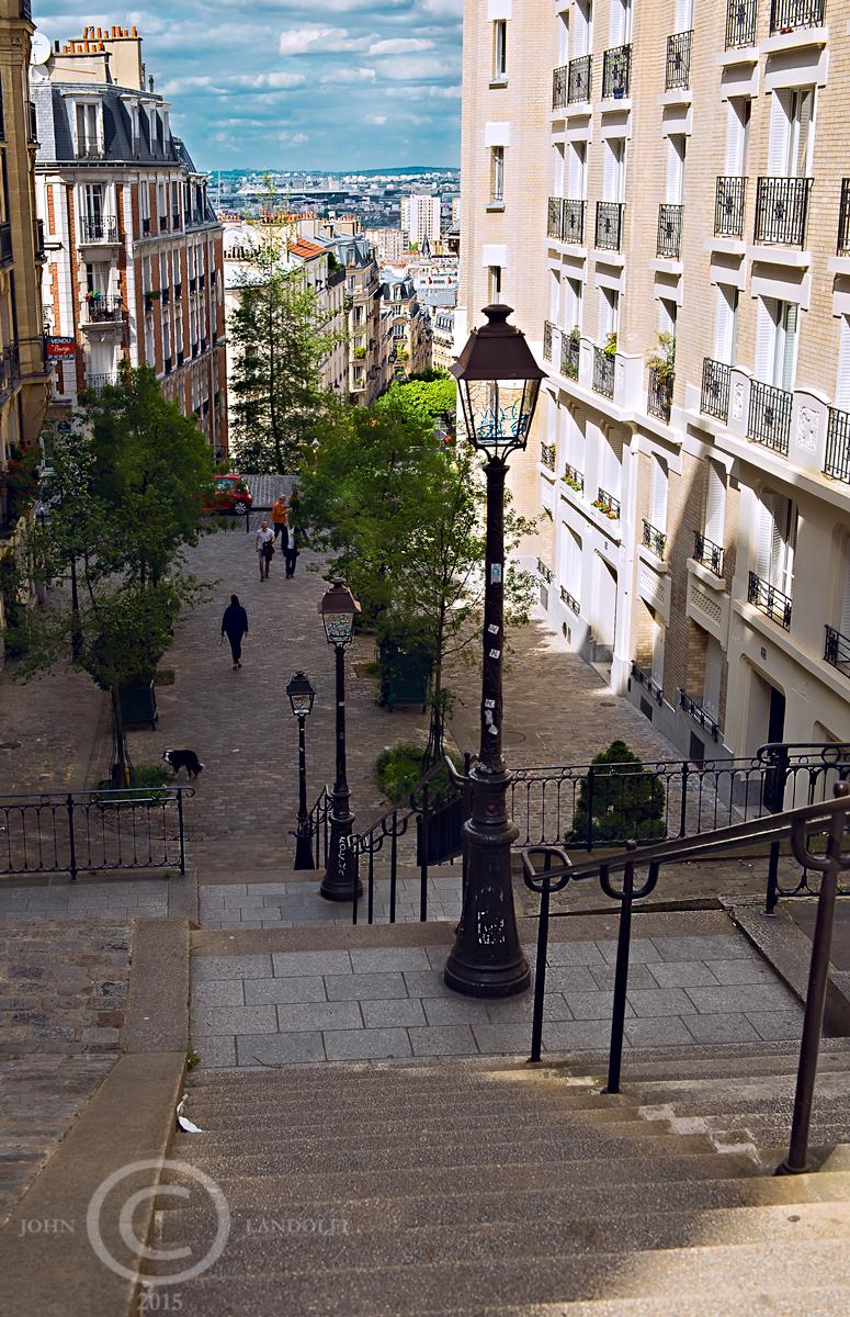 Near Sacre'Coeur, Paris