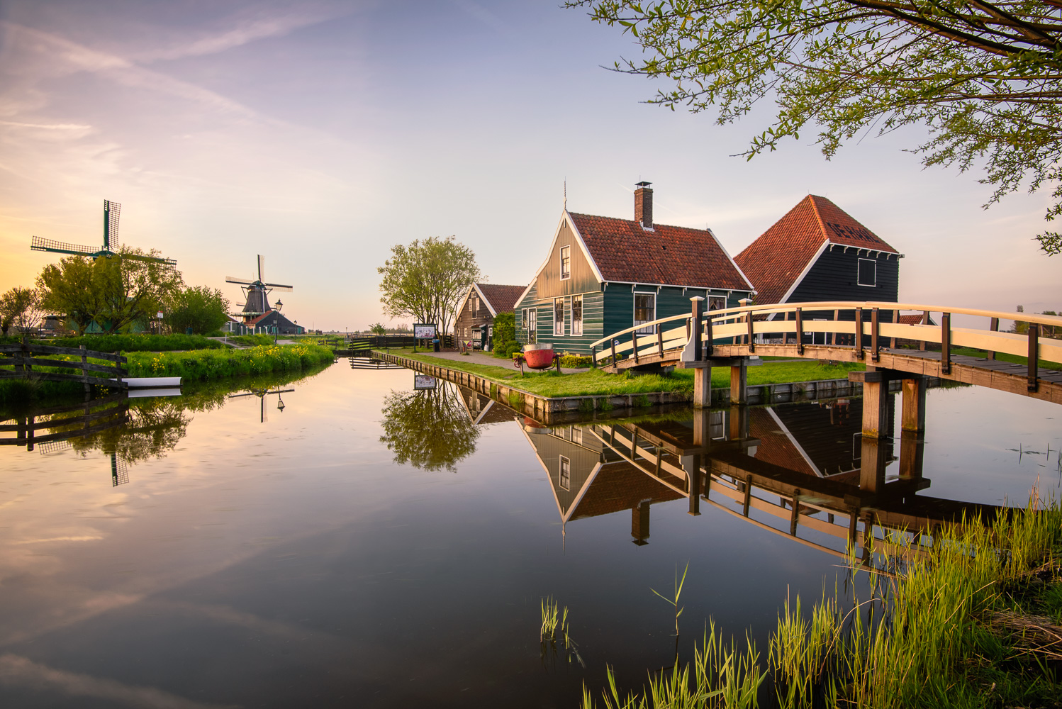 Dutch light - Zaanse Schans, Netherlands