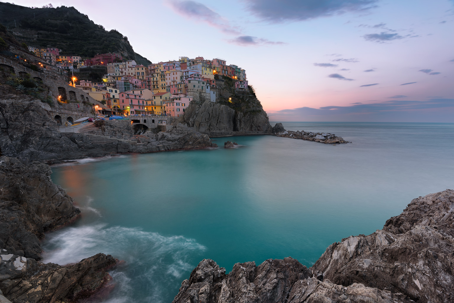 Good morning Manarola - Italy