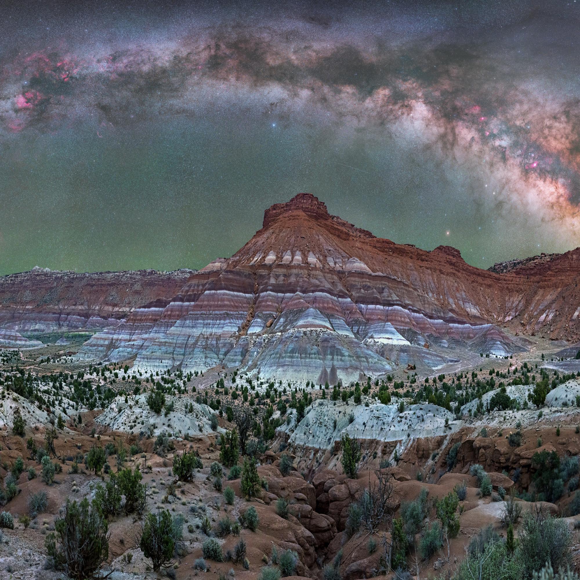 Paria Utah under the Milky Way