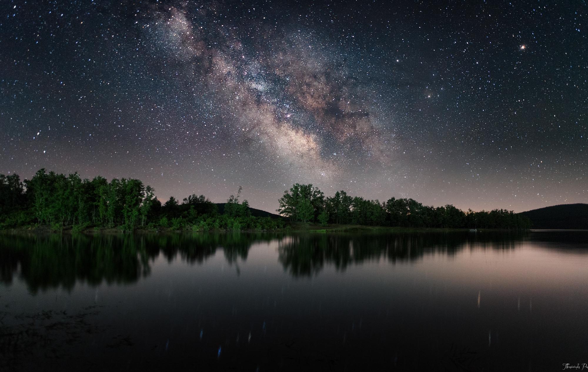 Lake of Galaxy