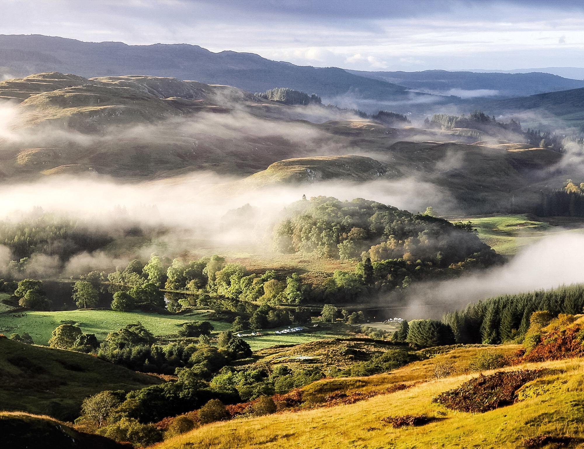 Loch Awe mornings