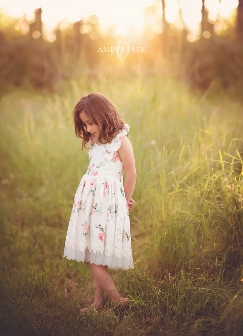 Child Portraiture - Amber Fite Photography