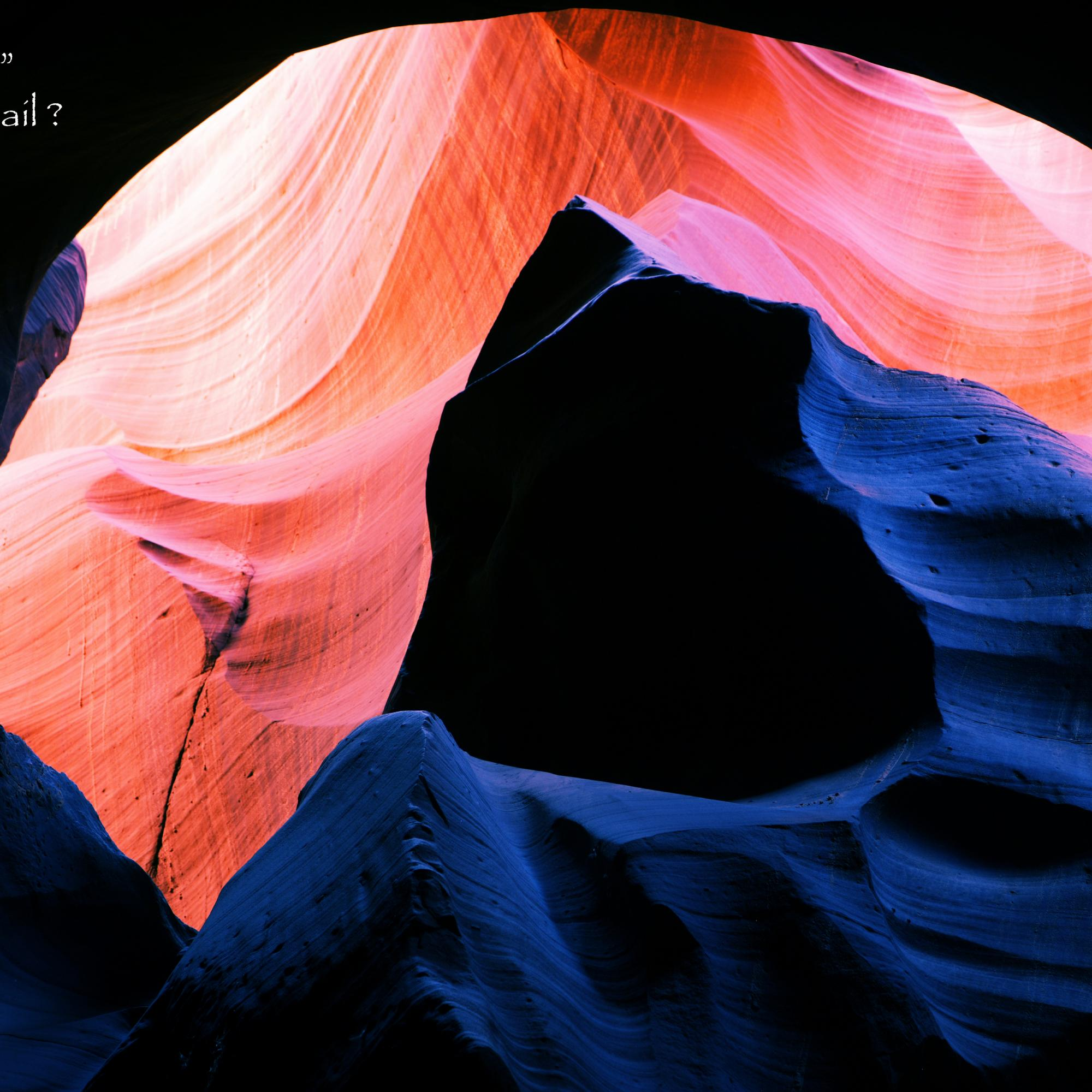 Fire & Ice in the Slot Canyons