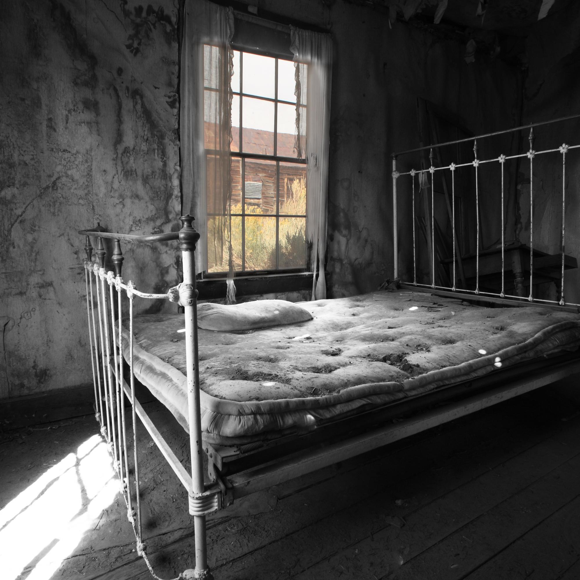 Old Bed in Ghose Town