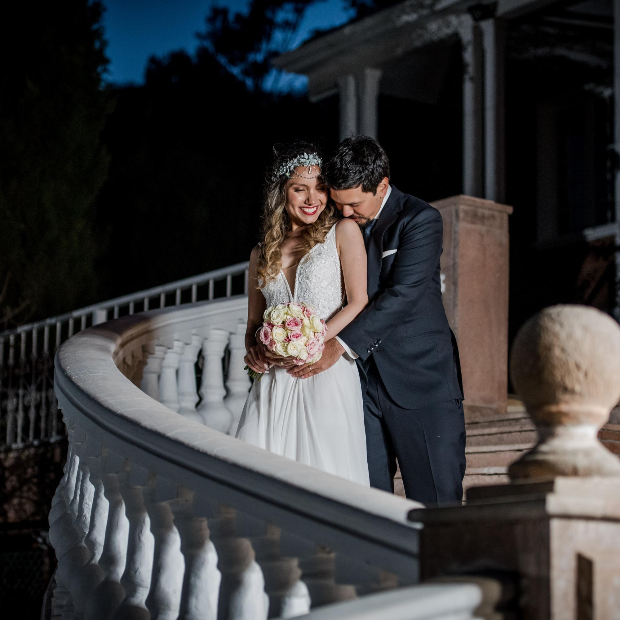 Beautiful couple at Alto del paico