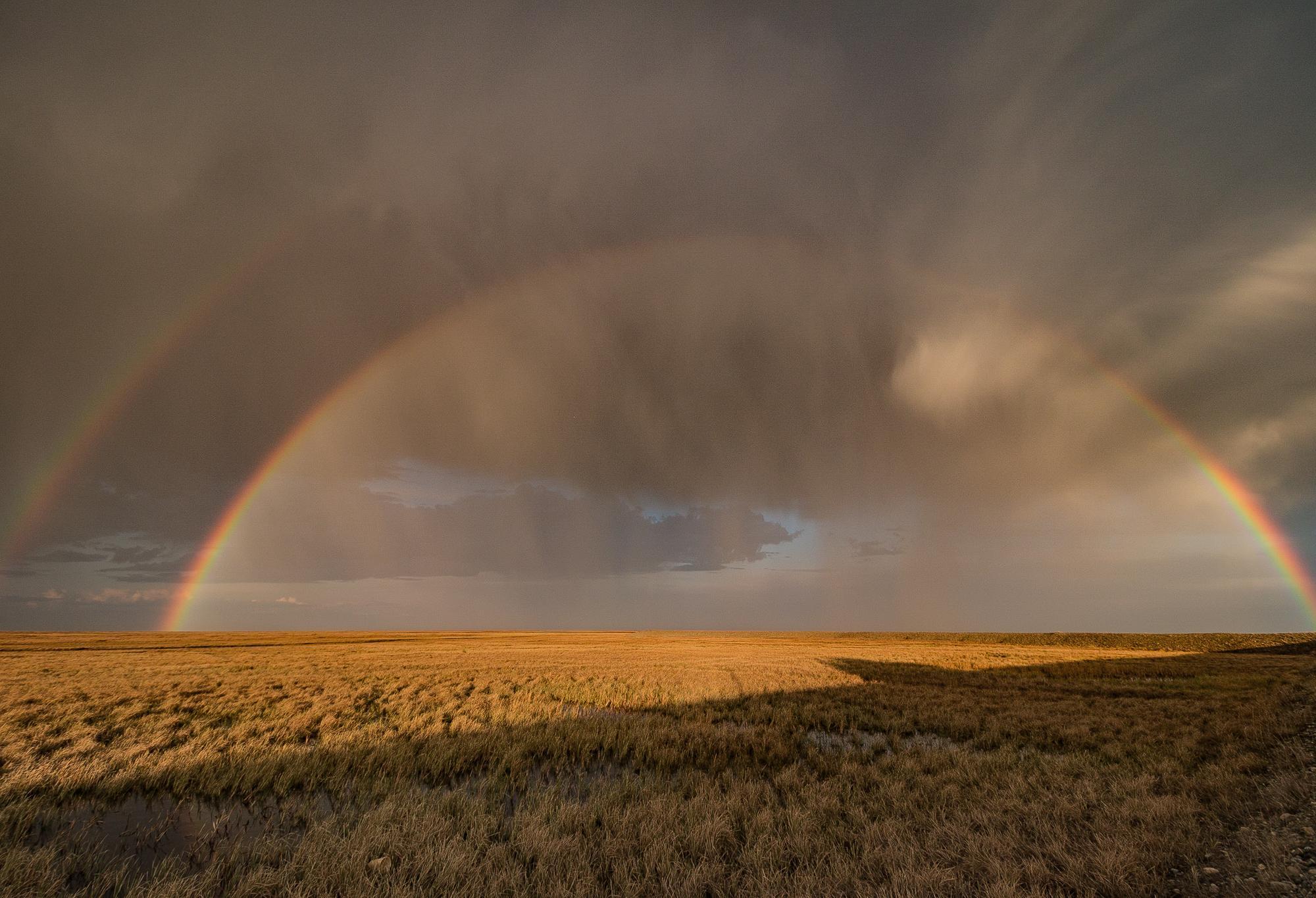 Double Arctic Rainbow