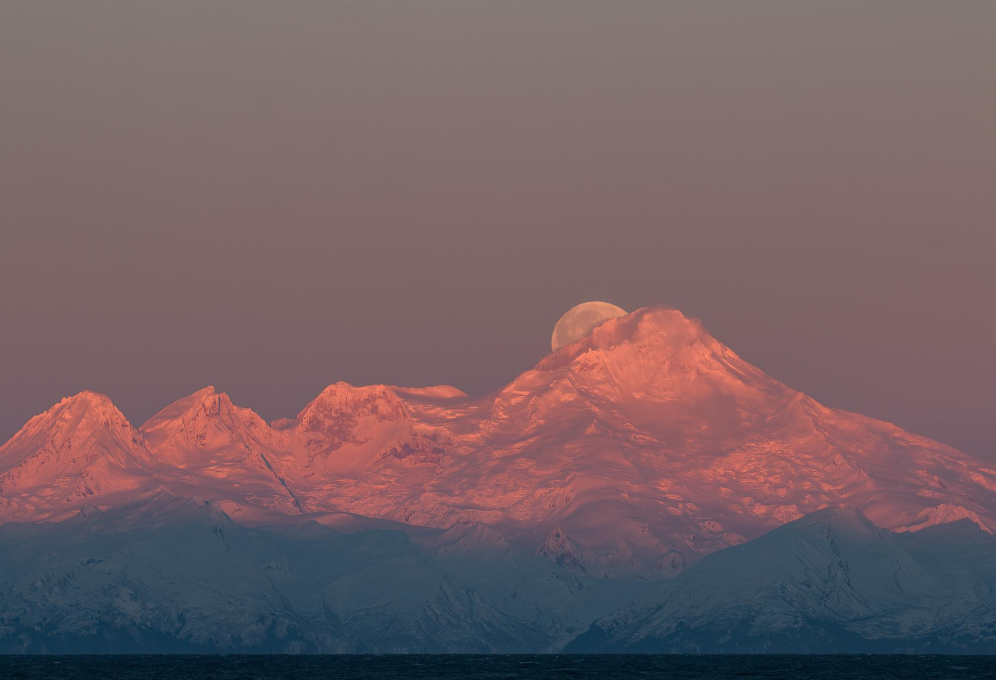 Super Moon in Alaska