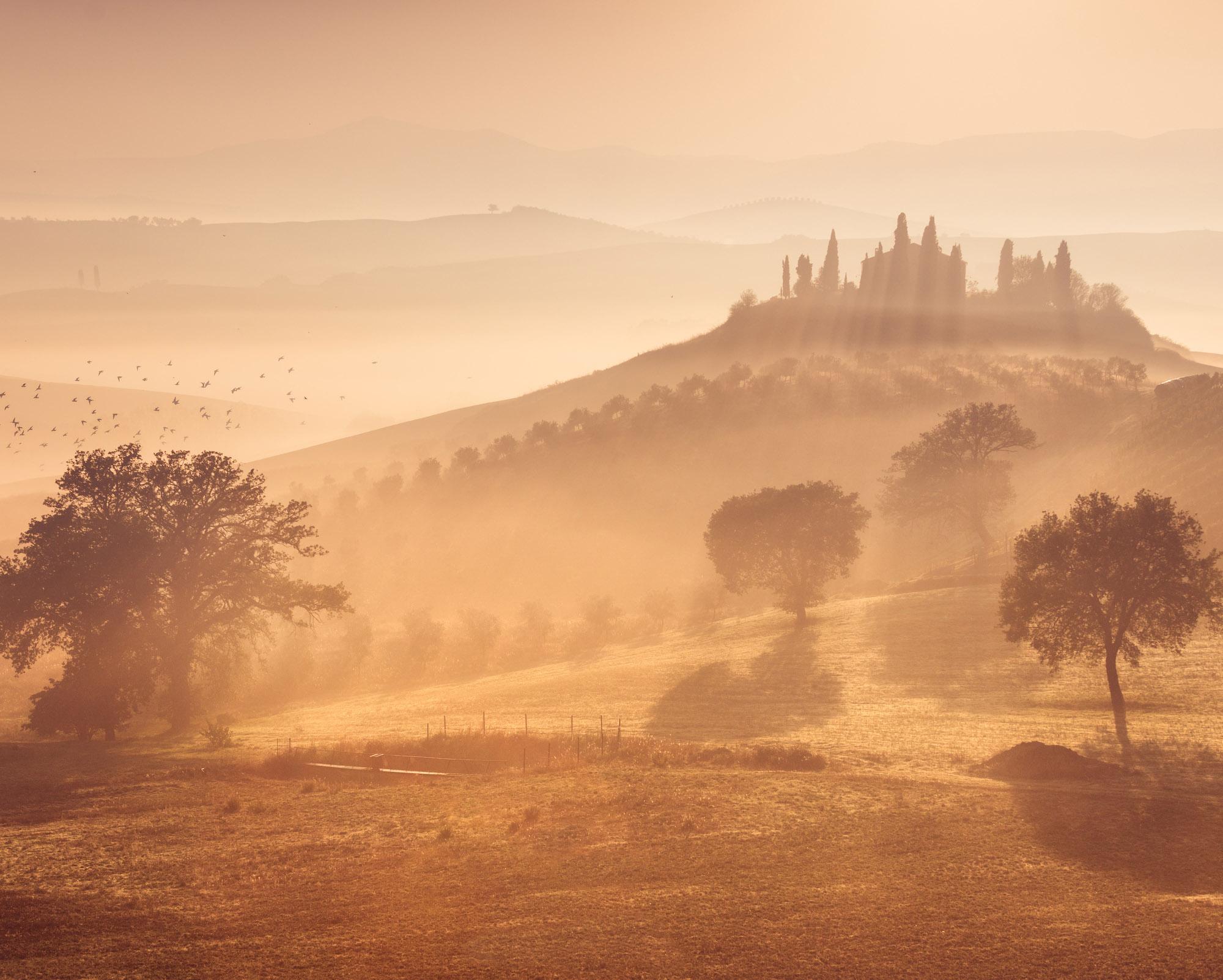 Autumn Tuscany by Daniel Kordan 2
