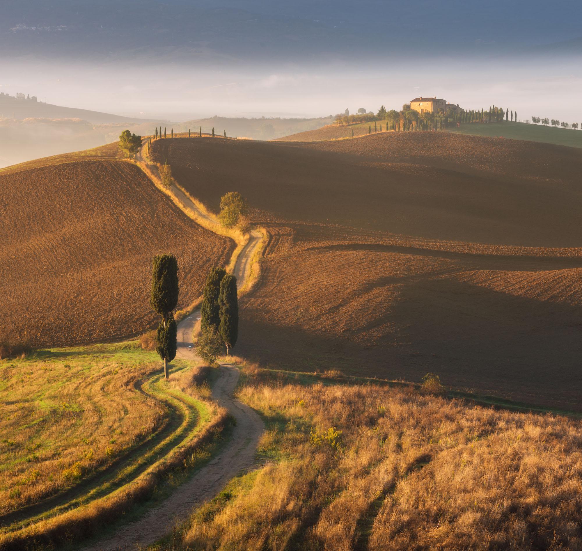 Autumn Tuscany by Daniel Kordan 1