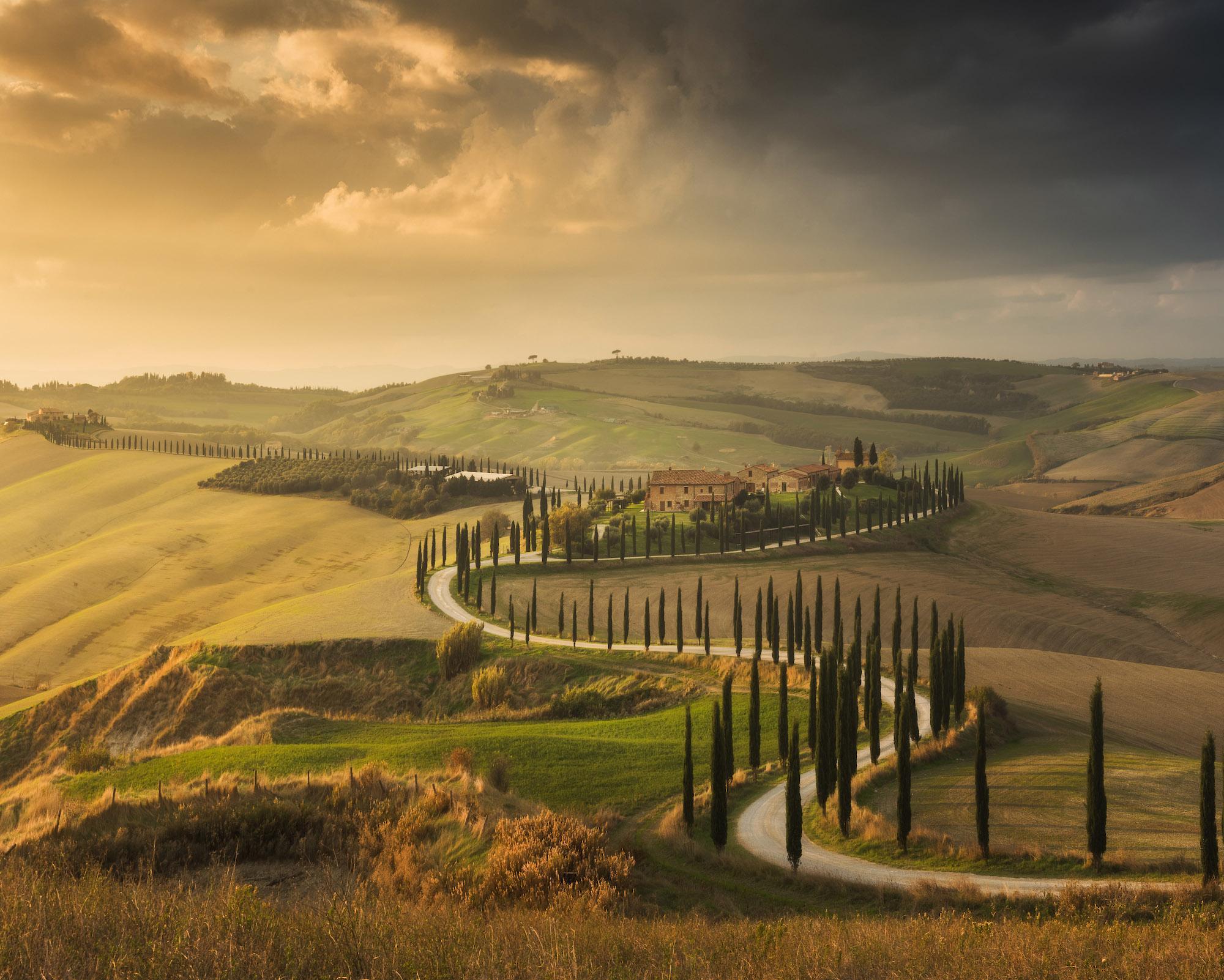 Autumn Tuscany by Daniel Kordan 4
