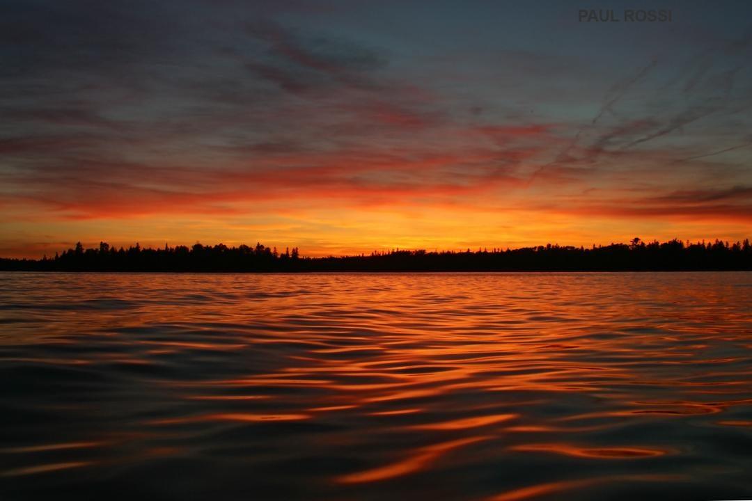 Lake Huron Summer Sunset