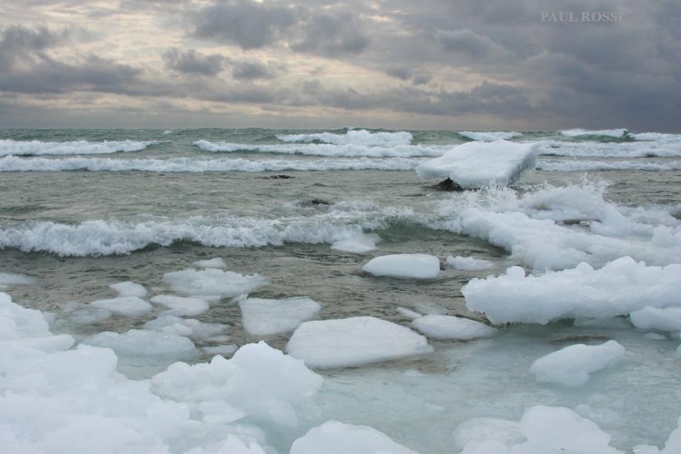 Lake Huron Winter Waves