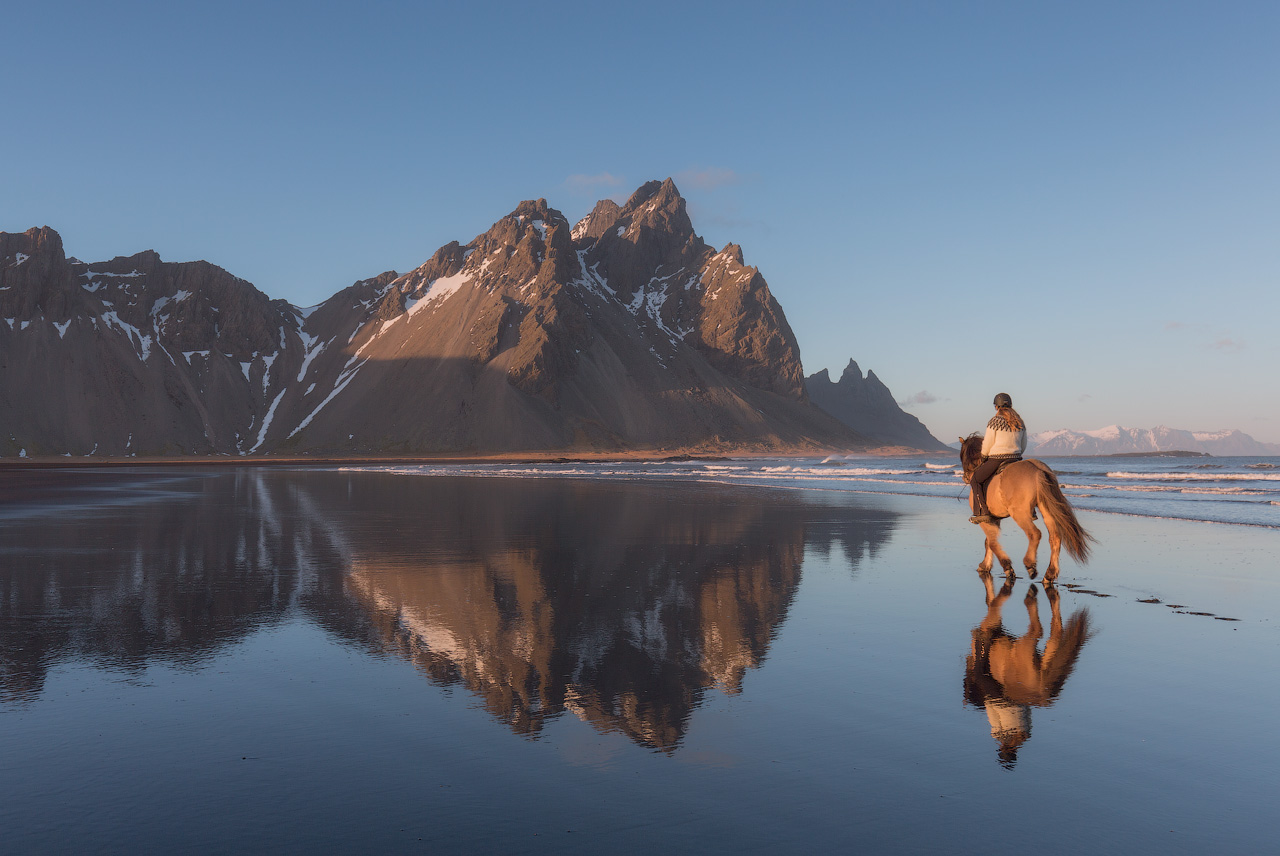 Summer Horseriding in Iceland