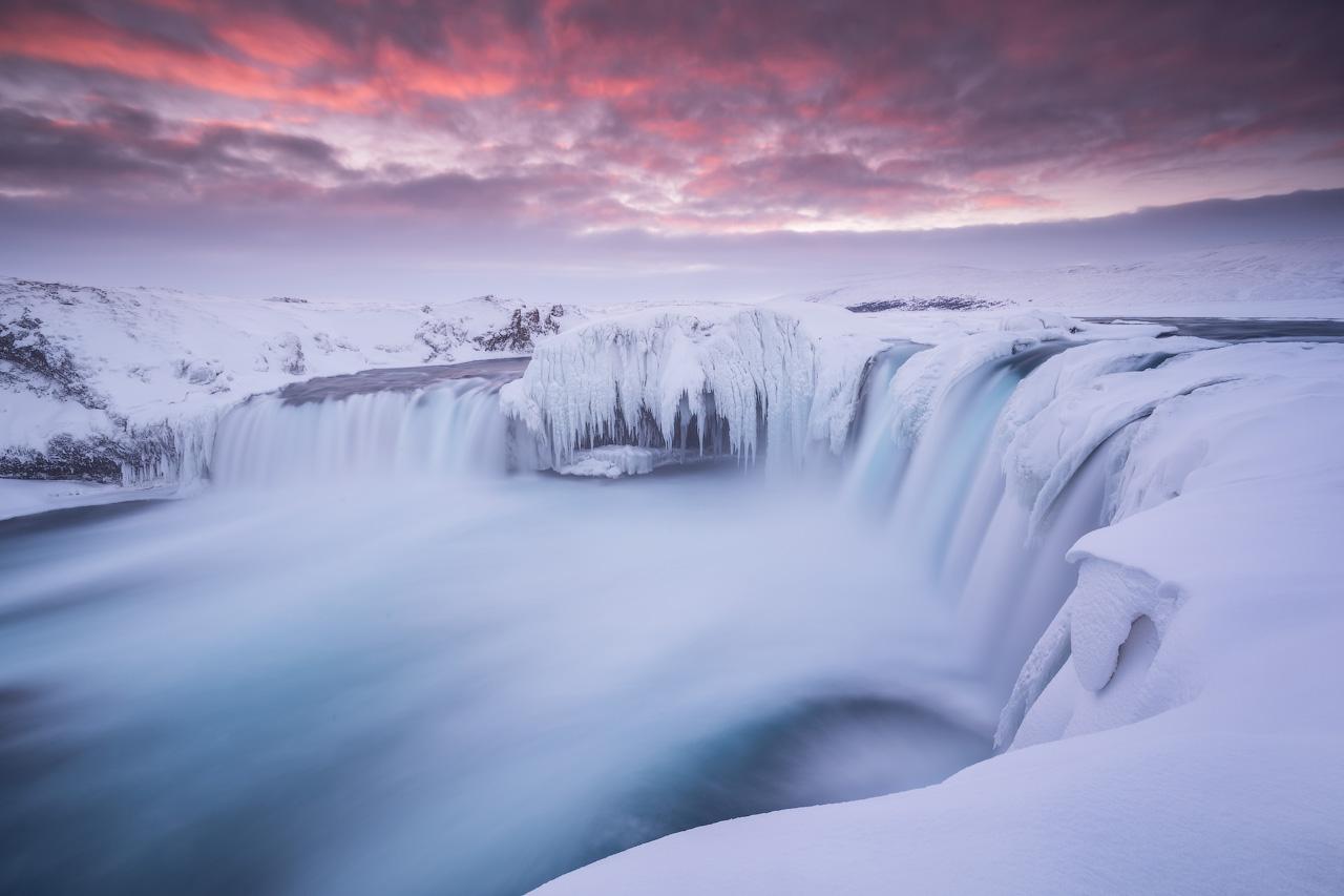 Winter at Godafoss