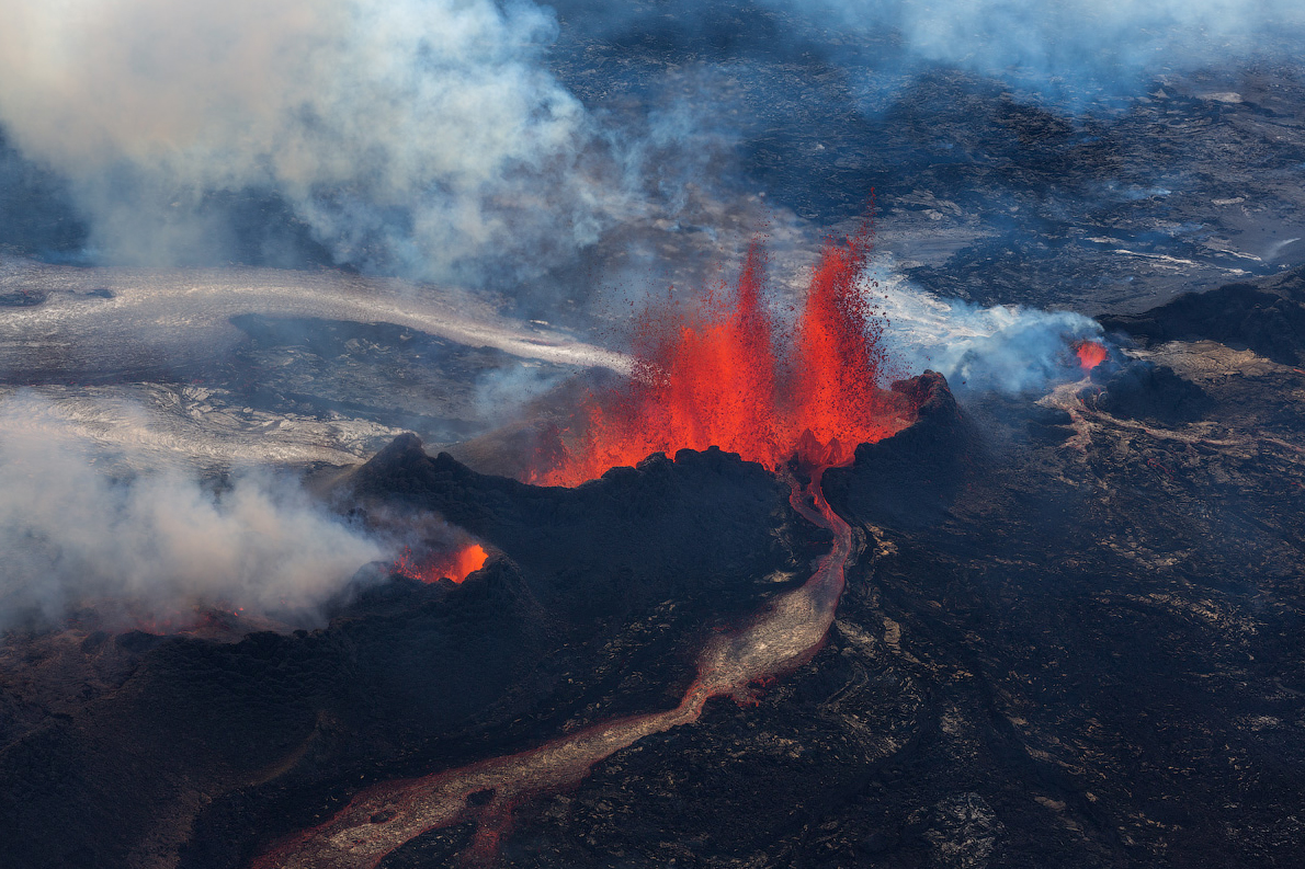 Aerial View of Holuhraun