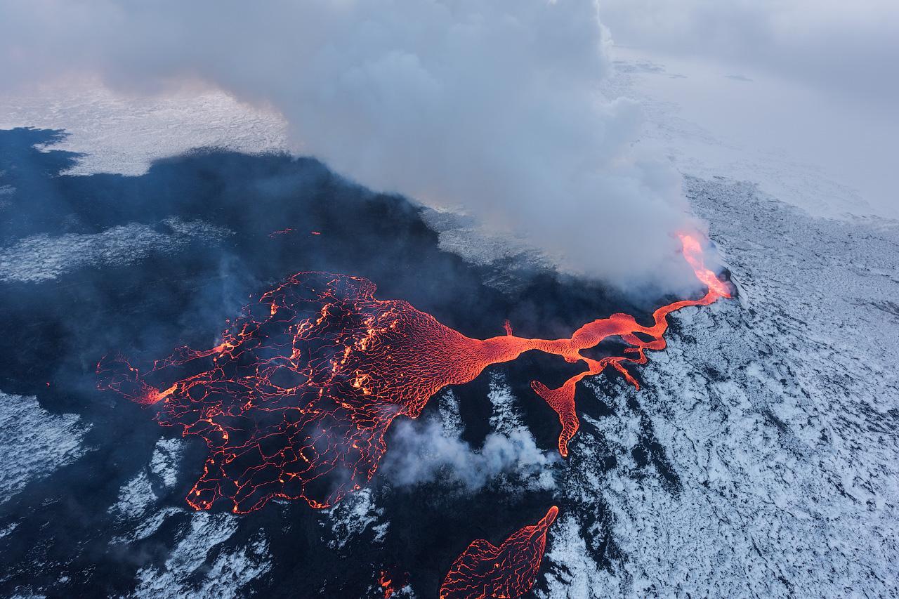 Holuhraun Eruption in Iceland
