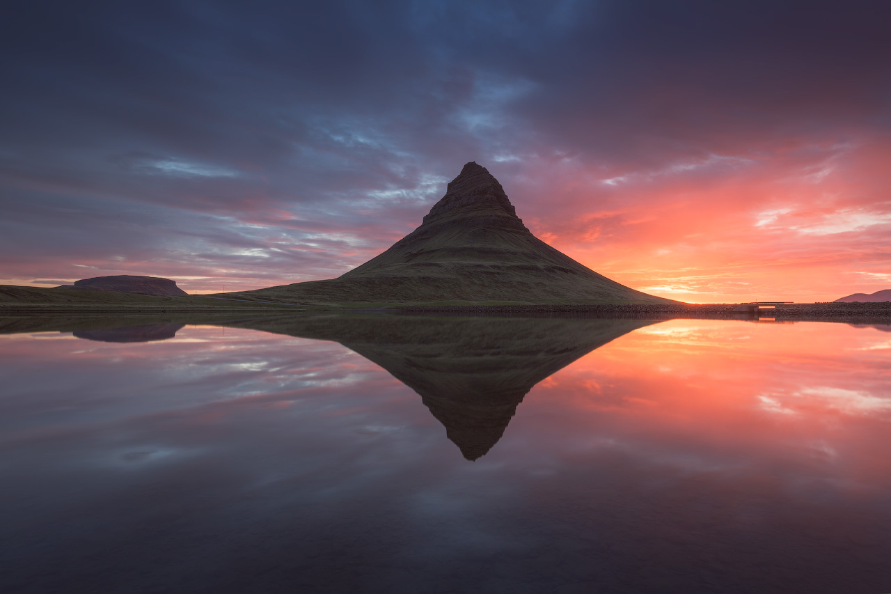 Reflection of Kirkjufell