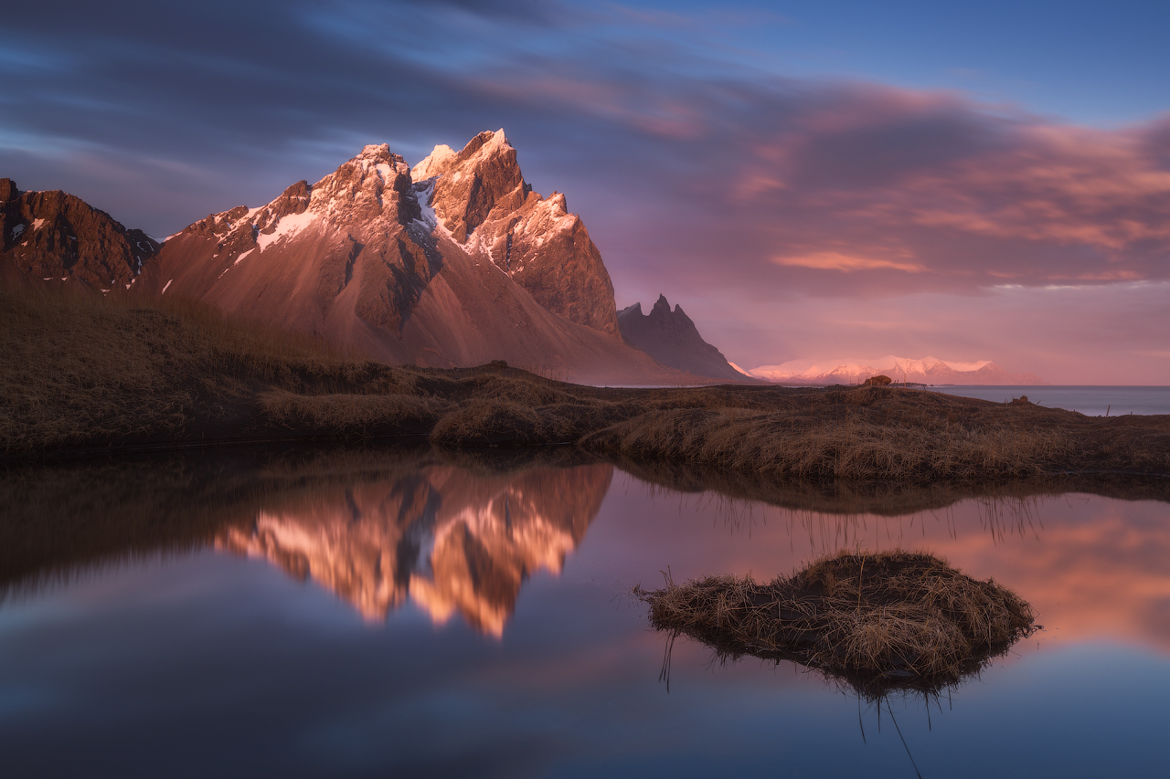 Stillness at Vestrahorn