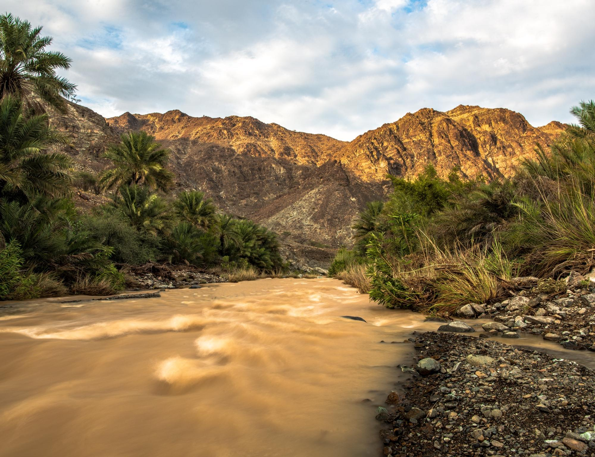 Muddy river - Oman
