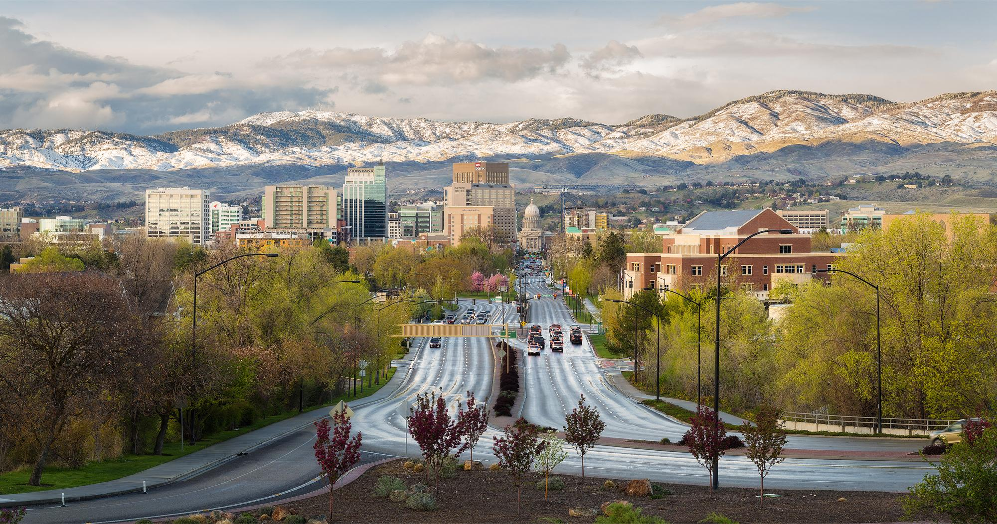 April Showers in Boise