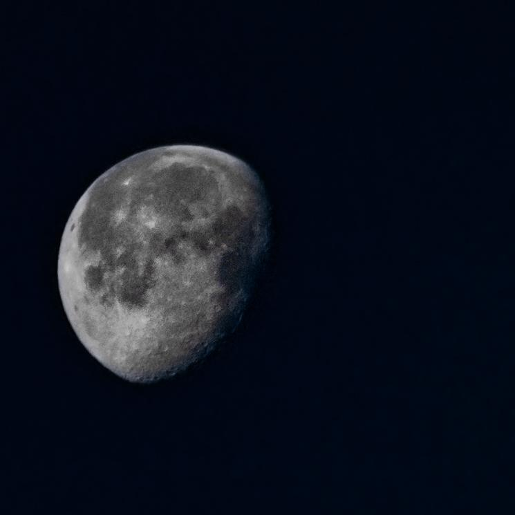 My first attempt at a shot of the Moon