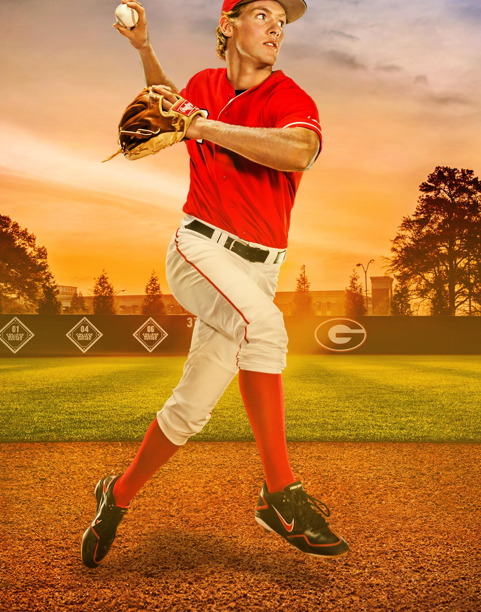 UGA Baseball Photo - Nelson Ward