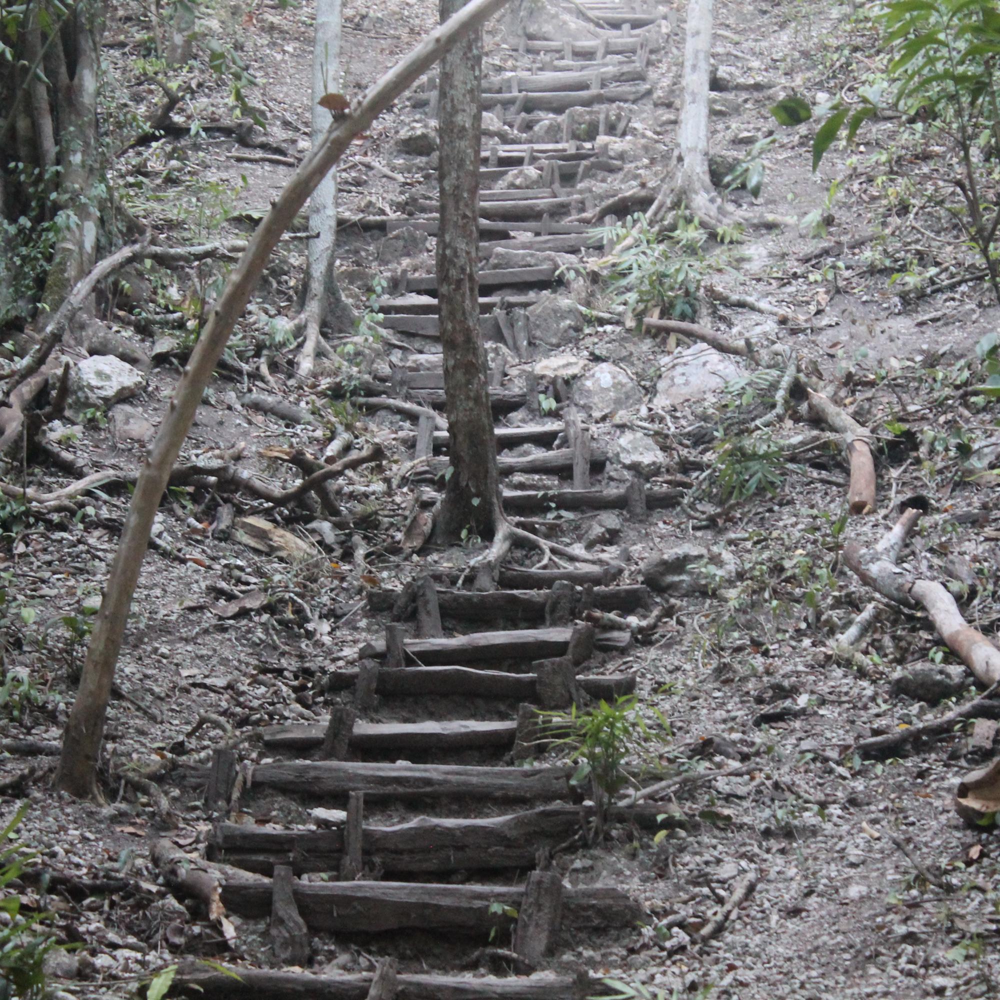 Trail up Tigre Pyramid IMG_6554