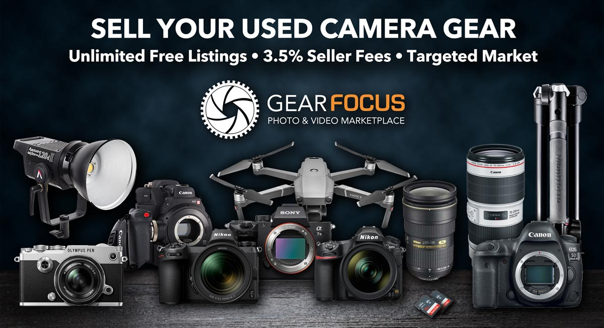 Sell Your Used Camera Gear