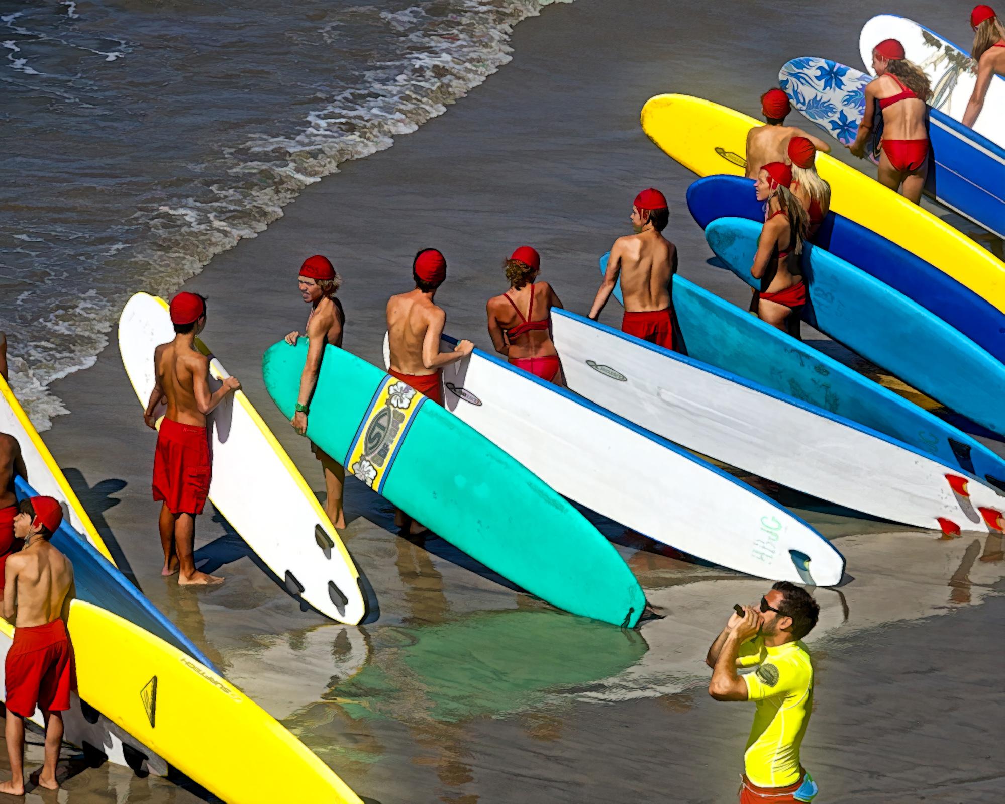 1 Junior Lifeguards