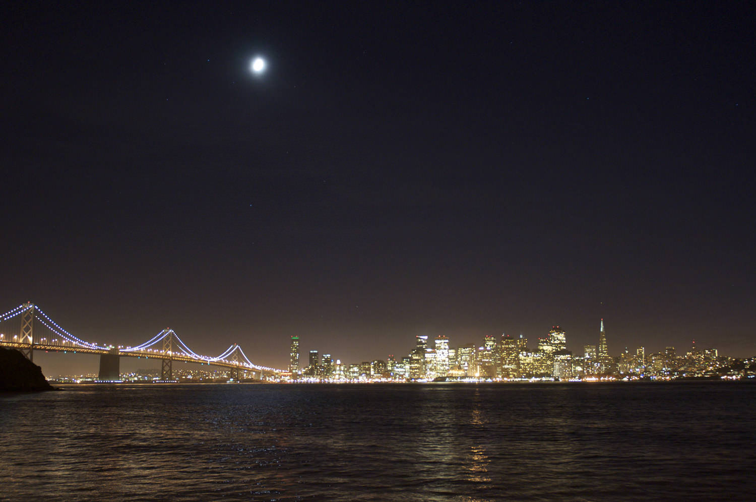 San Fran Night Photo