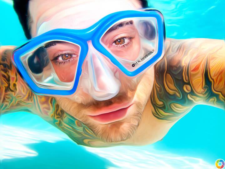 Swimming Self