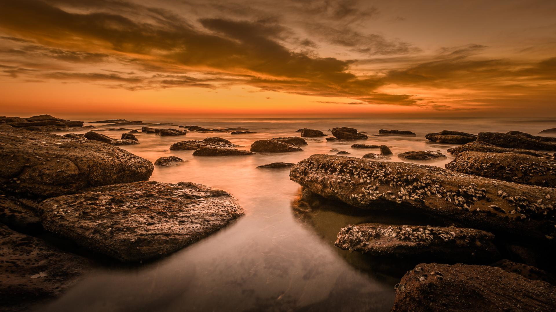 Shelly beach sunrise