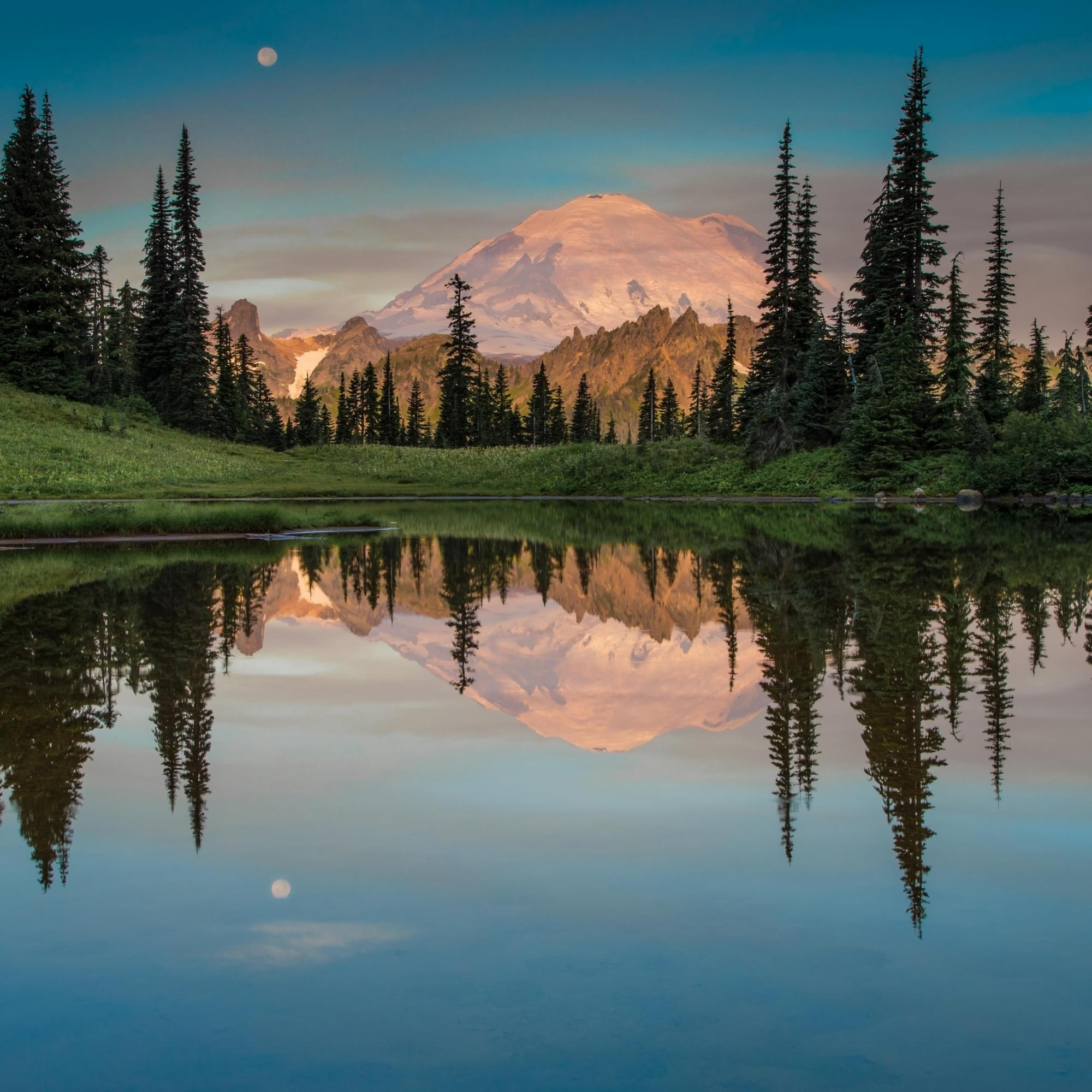 Tipsoo Lake, Washington State