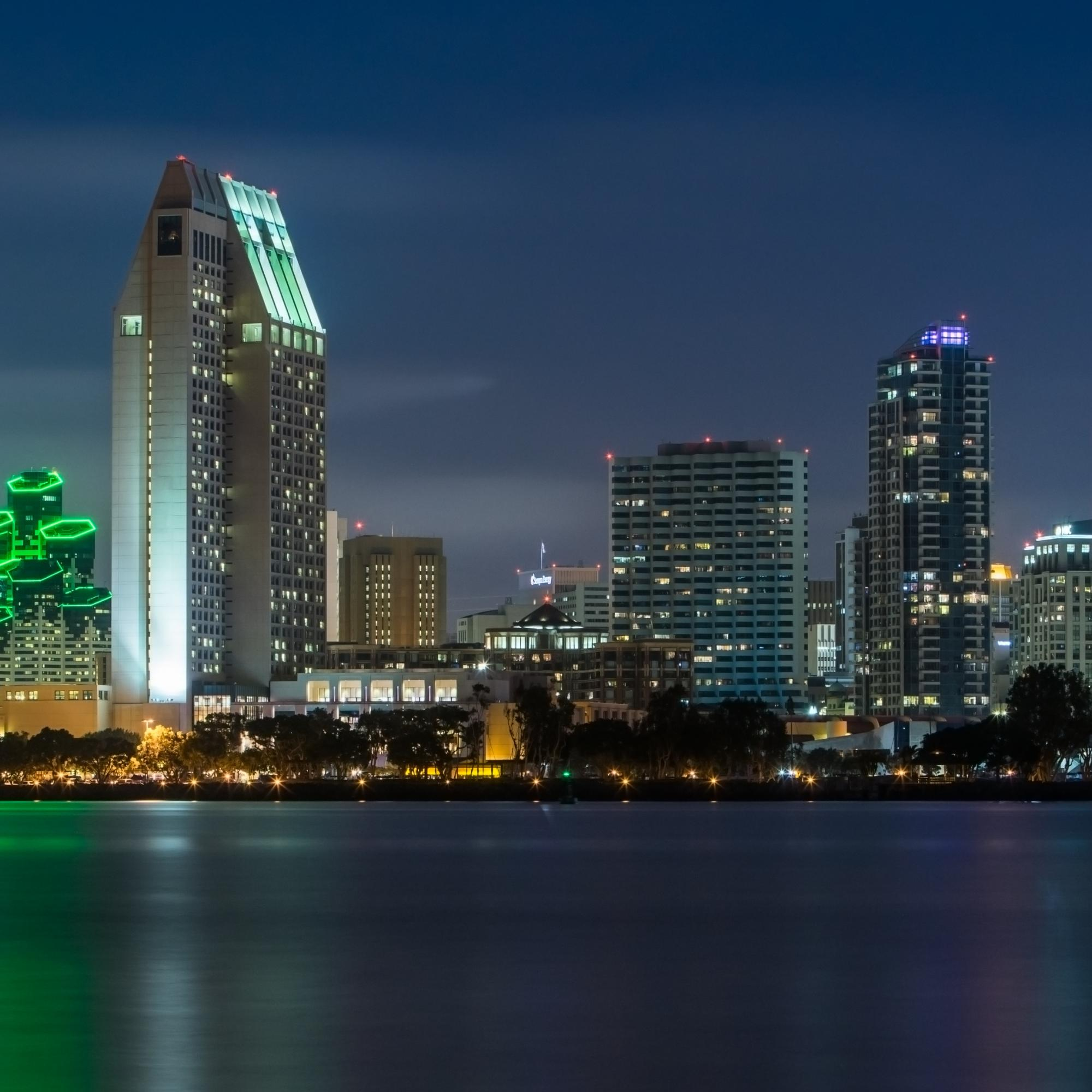 City of San Diego Skyline