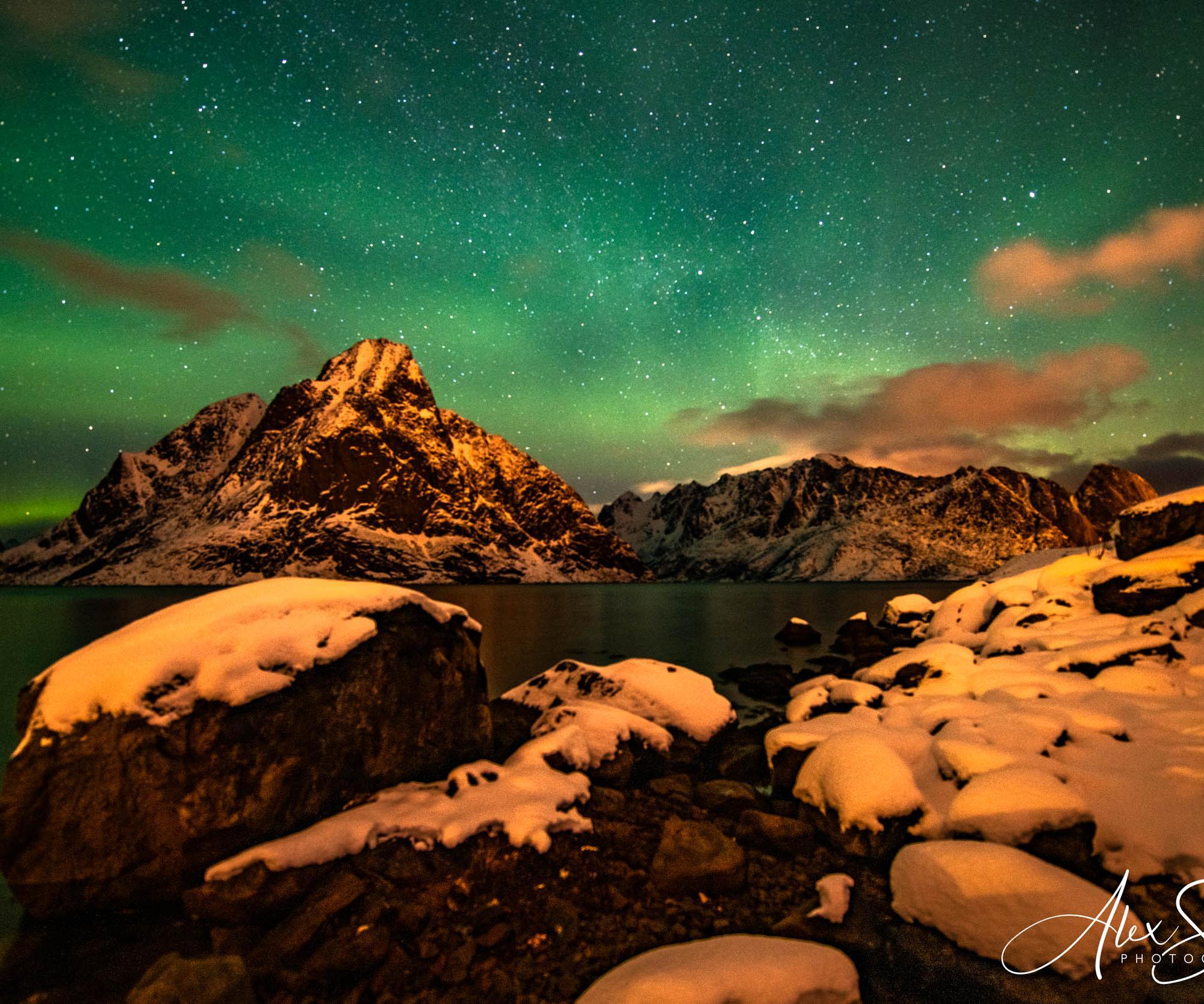 Northern Lights Reine Norway