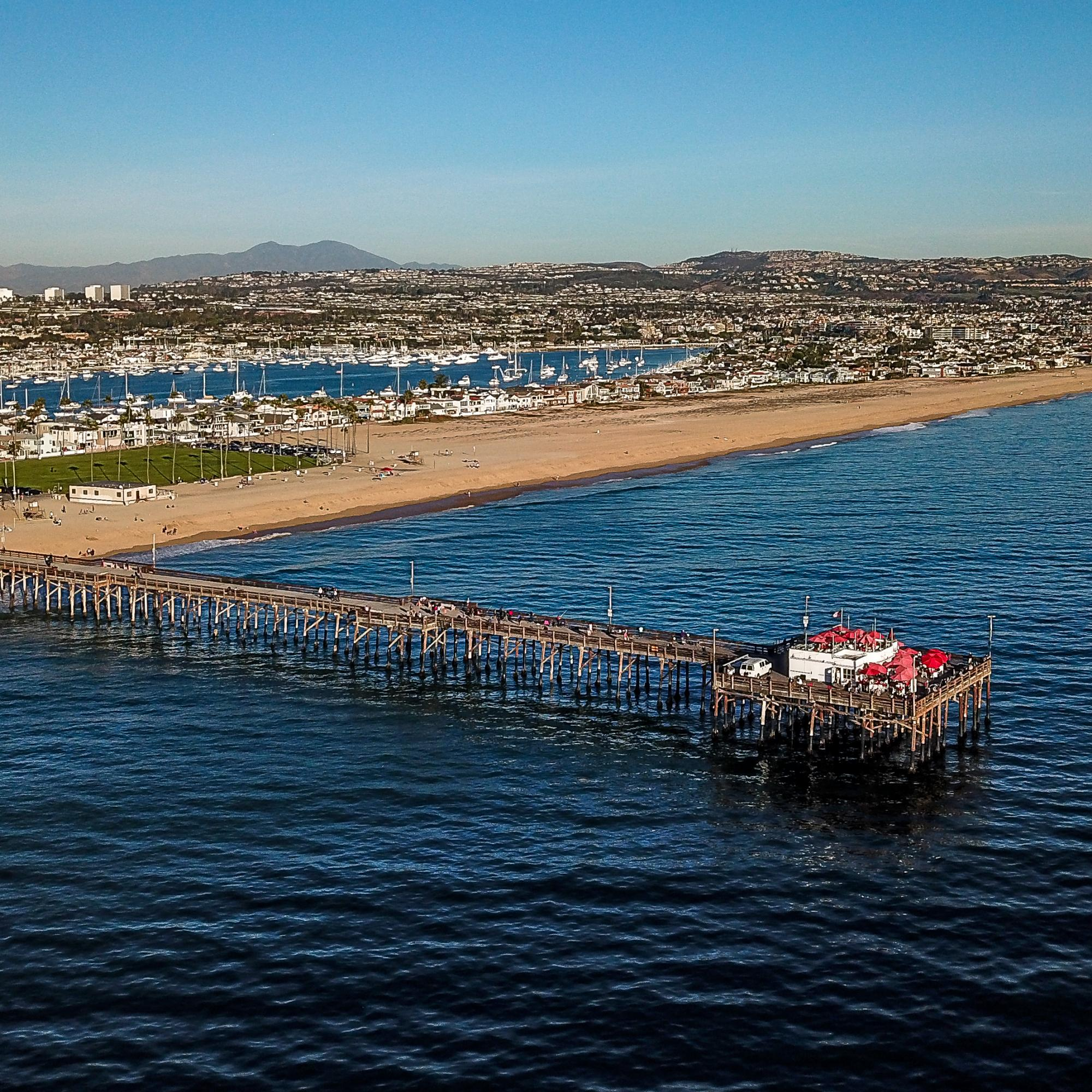 Pier by Air