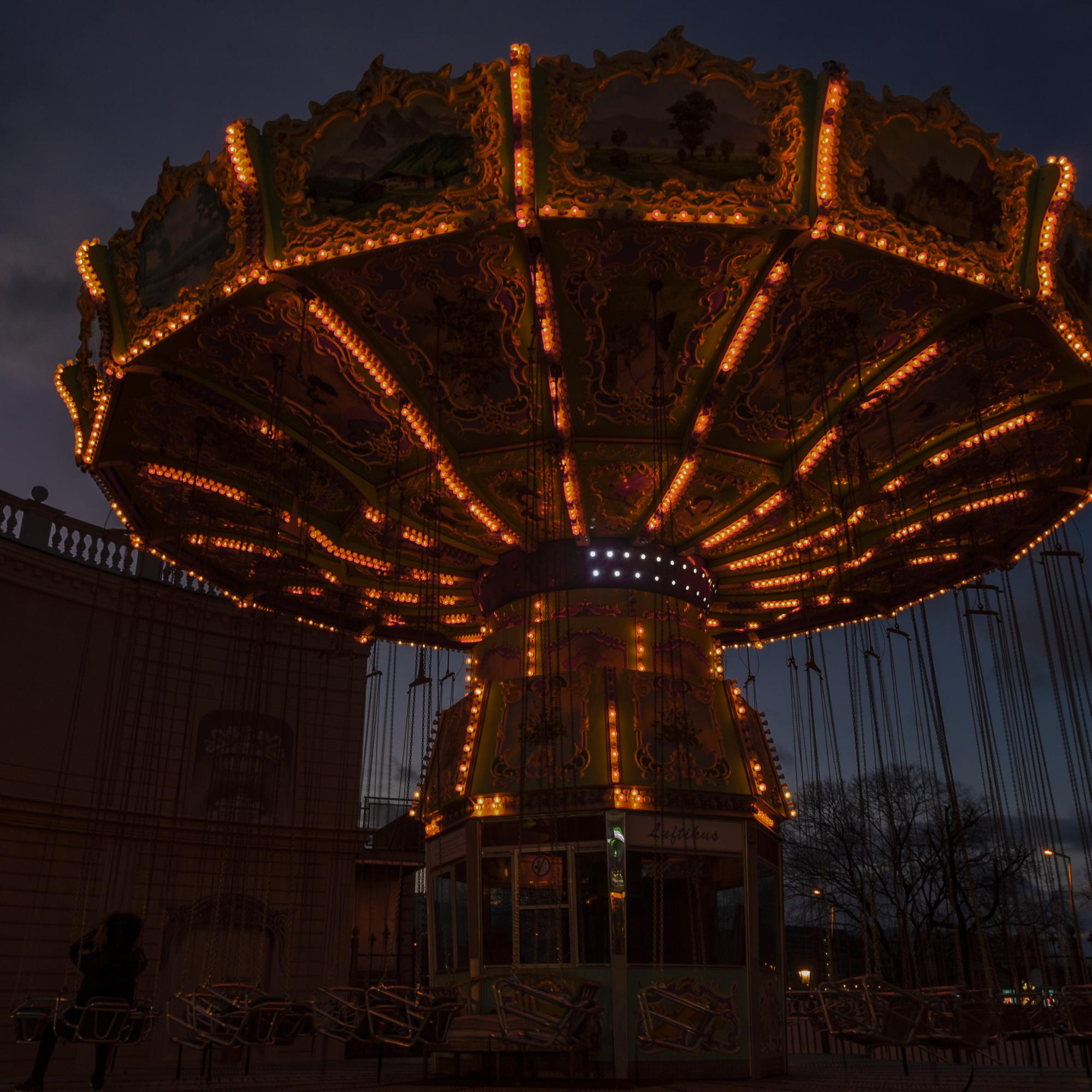 at the Prater in vienna