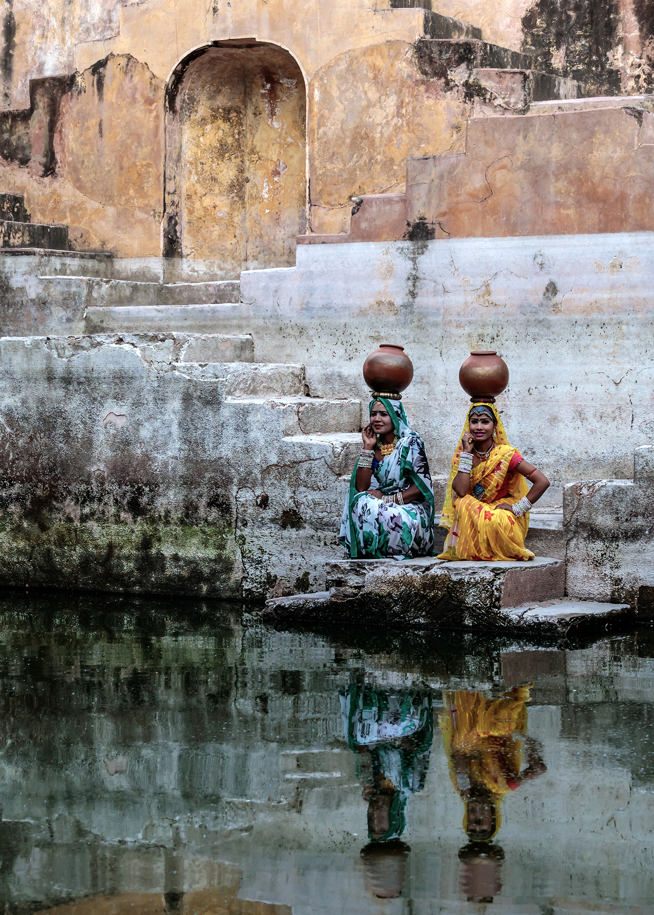 Stepwell Reflections