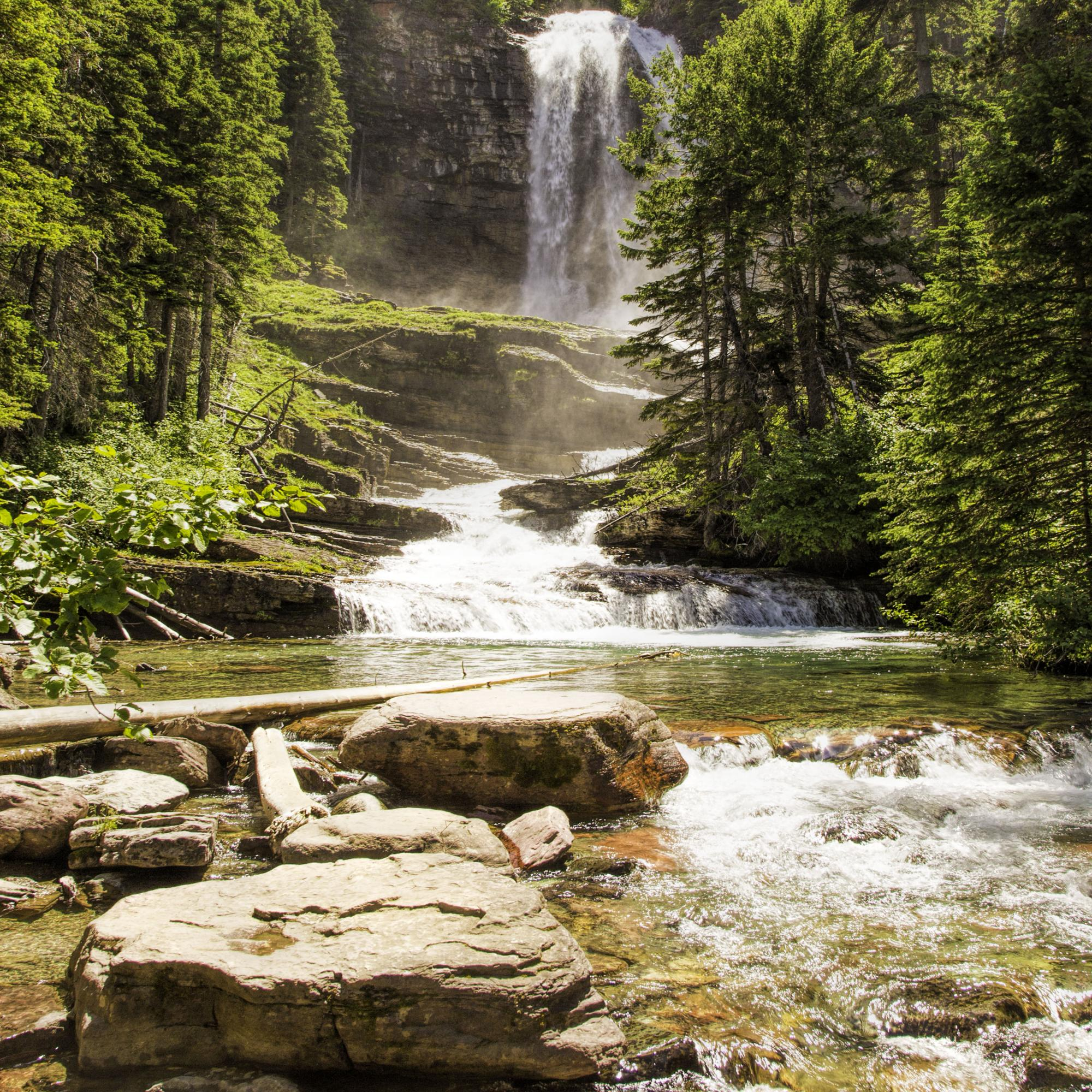 Virginia Falls Glacier National Park Dan Blackburn_MGL0556