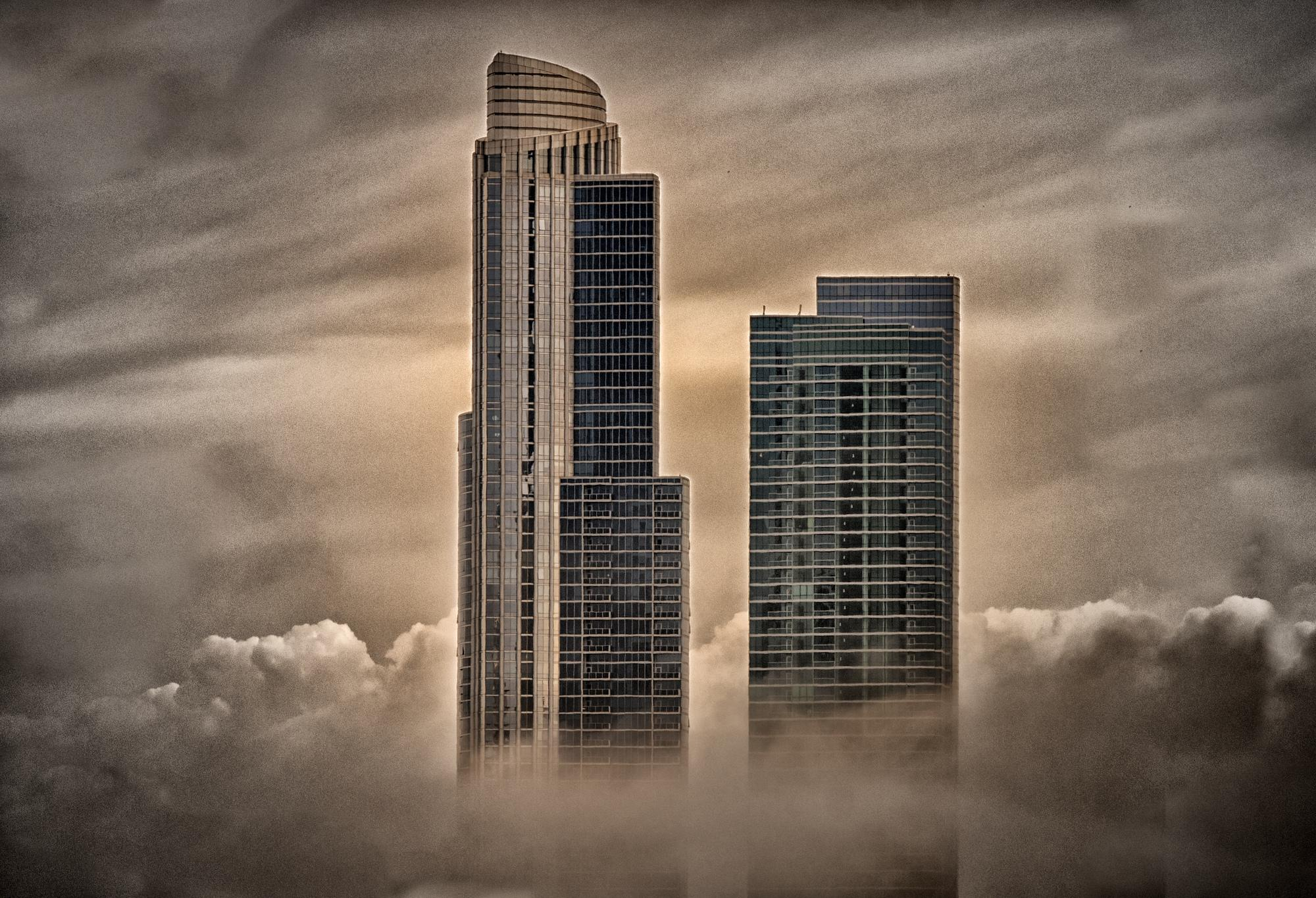City in the sky