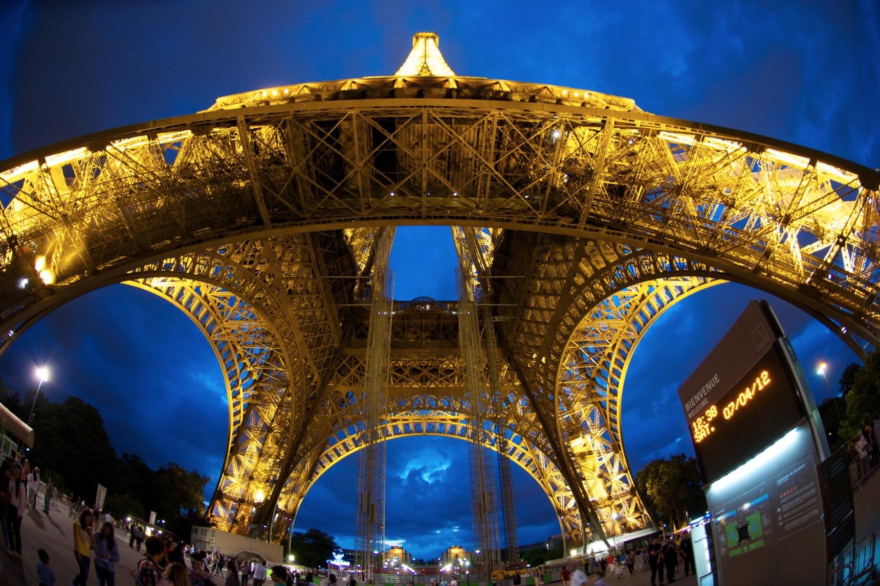 Eiffel Meets Fisheye