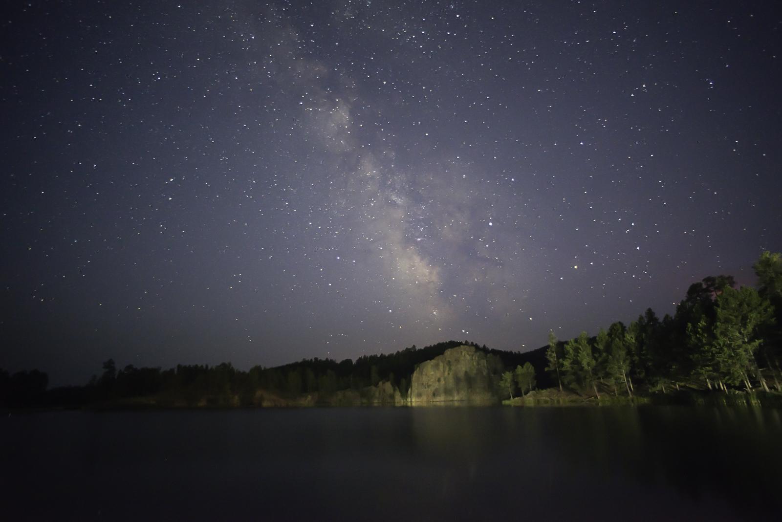 20170818D800-RKT_7439 Milky way over Legion Lake
