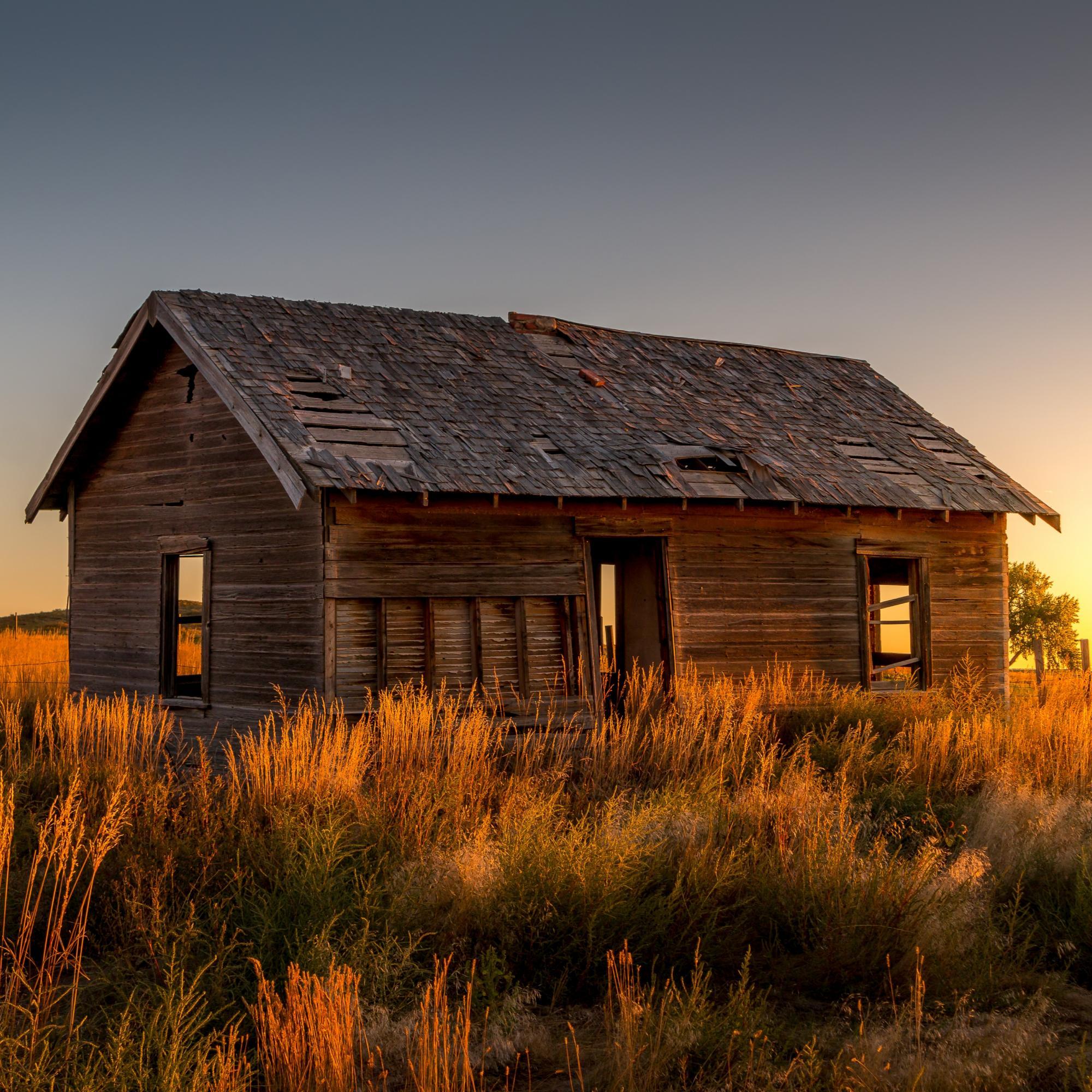 Farmhouse Huntley Wyoming