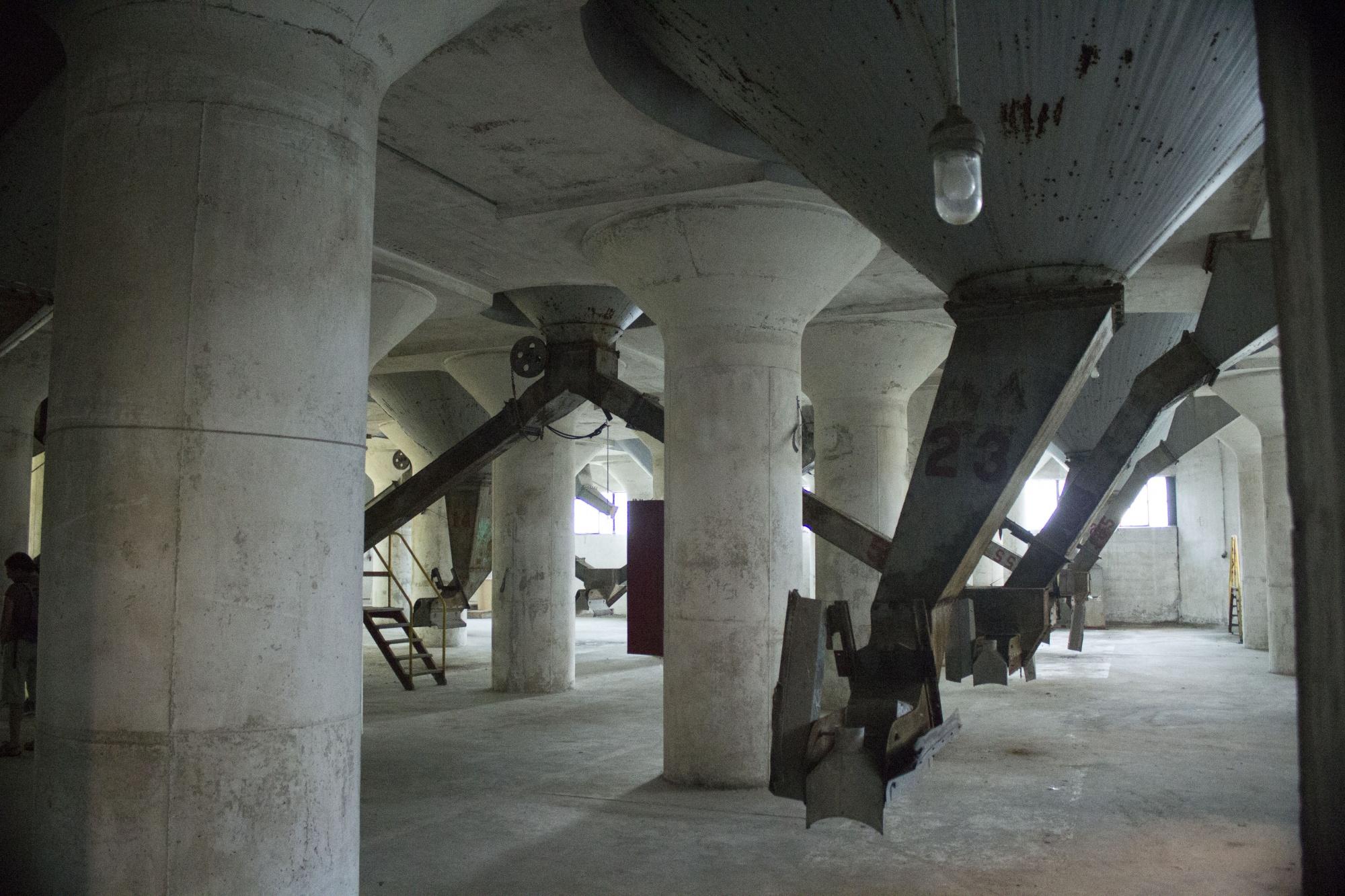 Under Grain aSilo