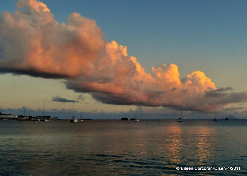 Clouds of St. Maarten